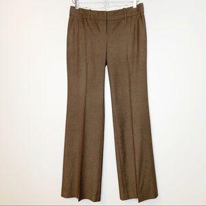 LOFT brown Marisa trousers size 0